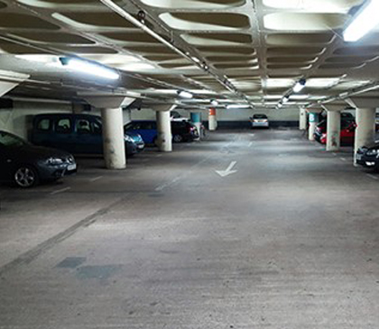 The Client Also Wanted To Make Sure New Car Park Had A Brighter Fresher And More Modern Appearance With An Aesthetically Pleasing Protective Finish