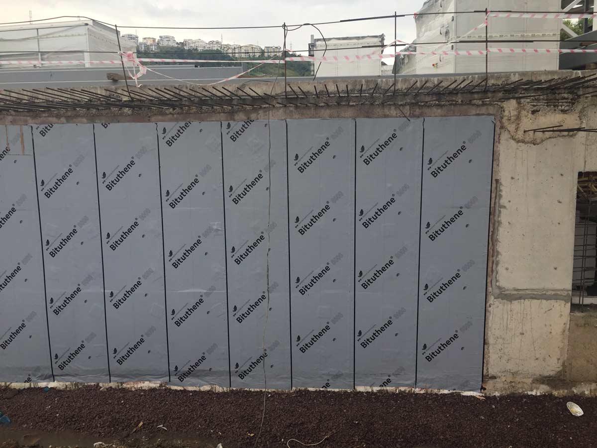 Bituthene 174 Post Applied Waterproofing Gcp Applied